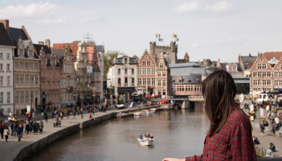 Gandawa miasto w Belgii