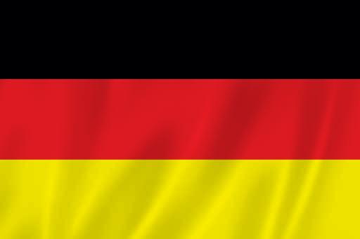 przewóz osób do niemiec - flaga