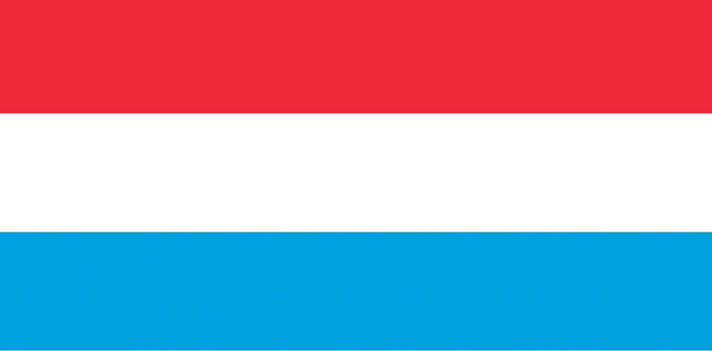 przewóz osób busem do Luksemburga - flaga